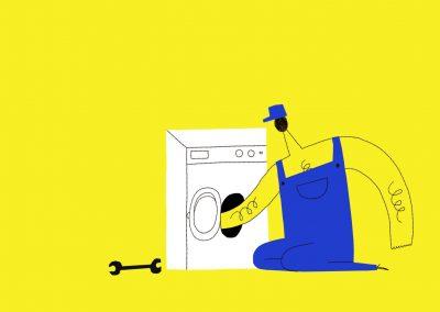 Pracka (Washing Machine)