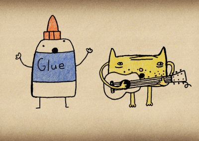 Glue Boy Saves the Day